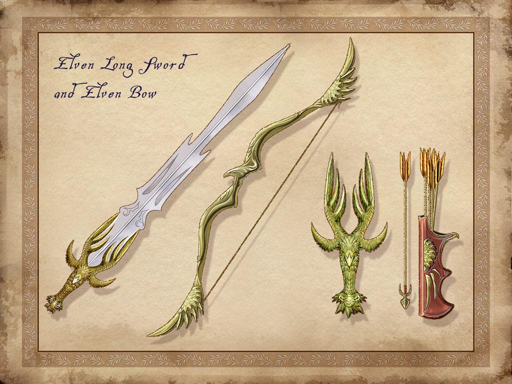 Эльфийский меч своими руками